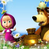 сценарий маша и медведь игровая программа